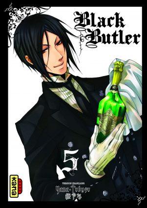 Black Butler - T.05 | 9782505009894