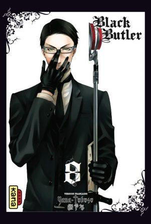 Black Butler - T.08 | 9782505012580