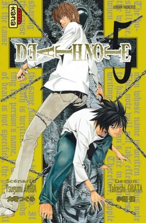 Death note - T.05 | 9782505001614