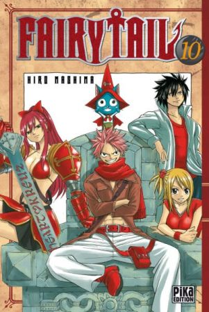Fairy Tail - T.10   9782811602000