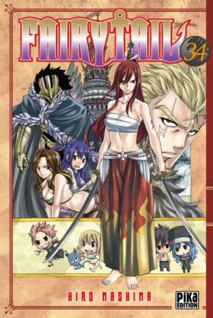 Fairy Tail - T.34   9782811613488