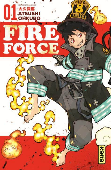 Fire Force - T.01 | 9782505069263