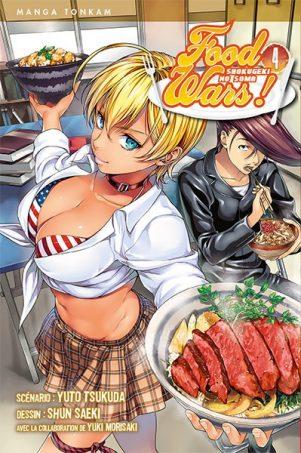 Food Wars - T.04 | 9782756067193