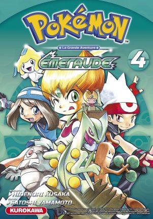 Pokemon - Rouge Feu & Vert Feuille  - Emeraude - T.04 - Emeraude | 9782368525326