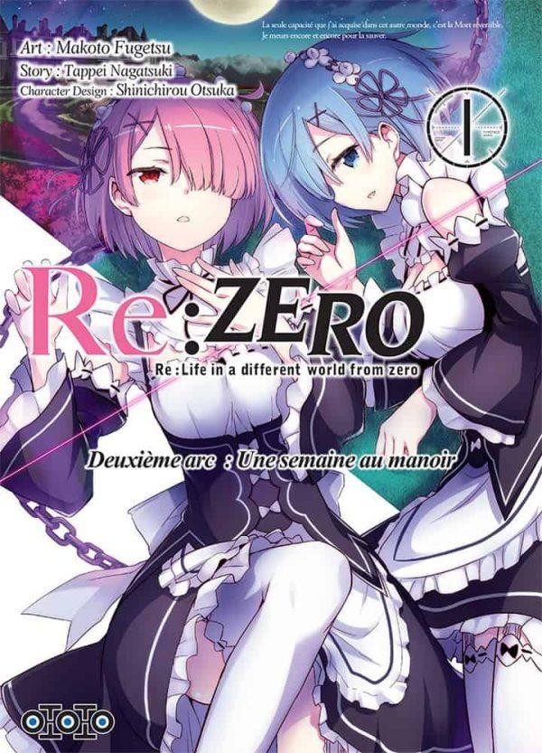 Re:Zero - Arc 1 T.01 | 9782377170357