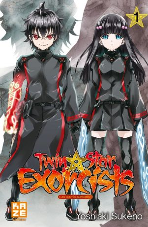Twin Star Exorcists - T.01 | 9782820320483