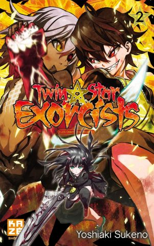 Twin Star Exorcists - T.02 | 9782820320490