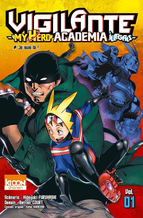 Vigilante - My Hero Academia Illegals - T.01 | 9791032701829