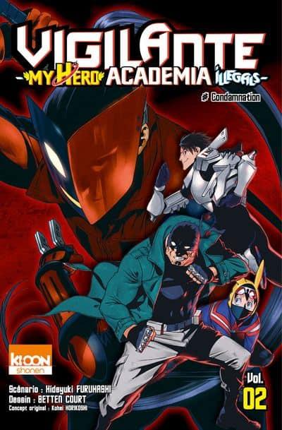 Vigilante - My Hero Academia Illegals - T.02 | 9791032702178