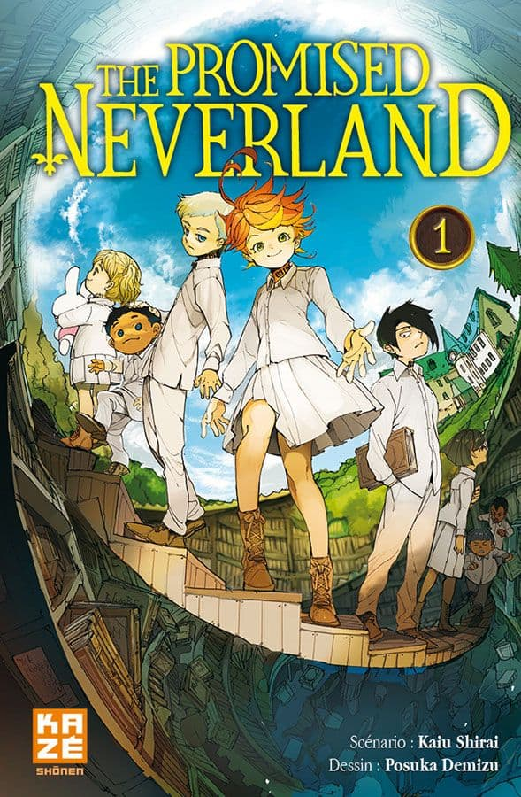 Promised Neverland (The) - T.01 | 9782820332233