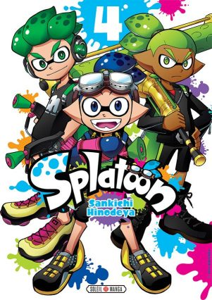 Splatoon - T.04 | 9782302072725