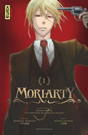 Moriarty - T.01 | 9782505070733