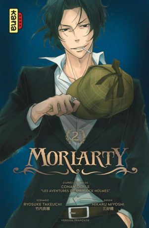 Moriarty - T.02 | 9782505070740