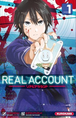 Real Account - T.01 | 9782368522936