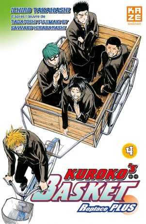 Kuroko s basket- replace PLUS - T.04 | 9782820329479