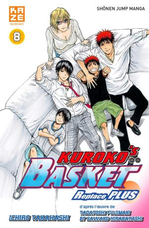 Kuroko s basket- replace PLUS - T.08 | 9782820333001