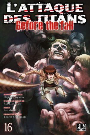 Attaque Des Titans - Before the Fall - T.16 | 9782811648794
