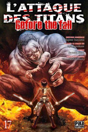 Attaque Des Titans - Before the Fall - T.16 | 9782811650933