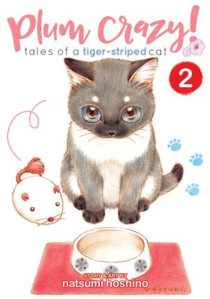 Plum crazy ! tales of a tiger-striped cat (EN) T.02 | 9781626925489