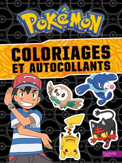 Pokemon: coloriages et autocollants | 9782014642926