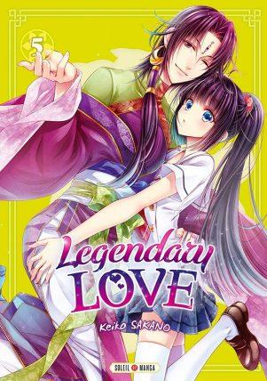 Legendary love T.05   9782302076549