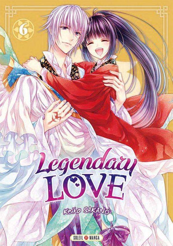 Legendary love T.06   9782302079168