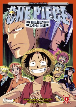One Piece - Anime Comics: La Malediction de l'Epee Sacree T.01 | 9782344003466