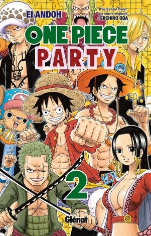 One piece Party T.02 | 9782344020425