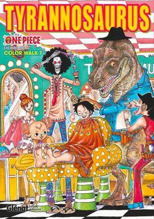 One Piece - Color Walk T.07-Tyrannosaurus | 9782344027400