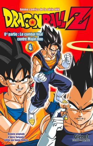 Dragon Ball Z - Anime Comics T.04   9782344033654