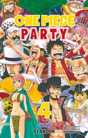 One piece Party T.04 | 9782344035276