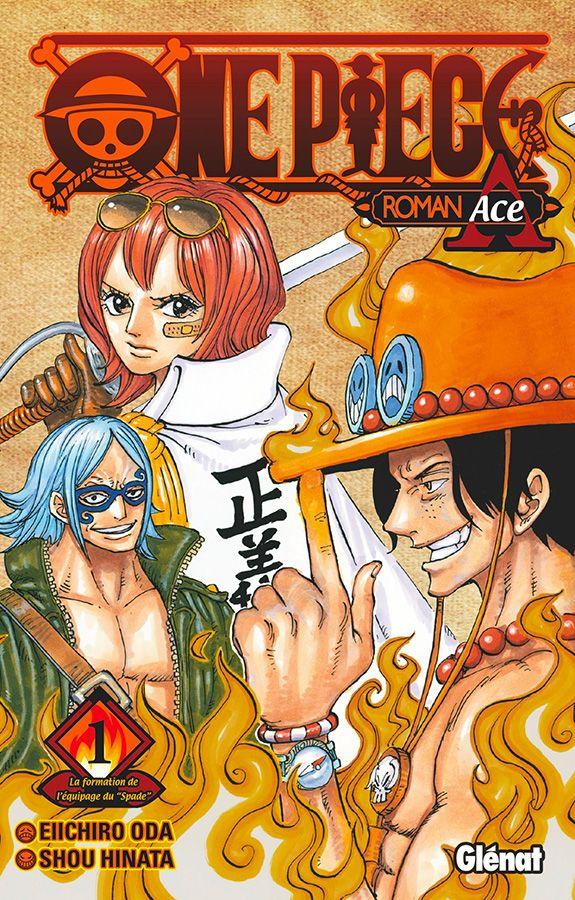 One Piece - Roman T.02 Roman Ace   9782344038796