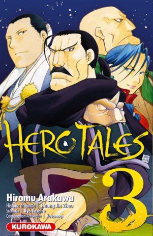 Hero tales T.03   9782351425527