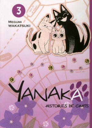 Yanaka - Histoires de Chats  T.03 | 9782372870313