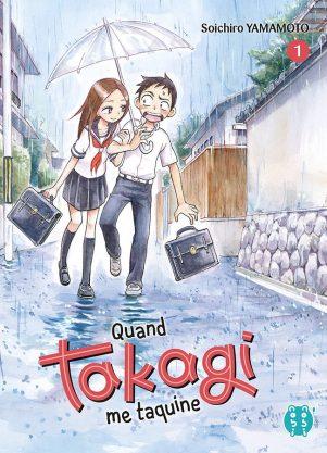 Quand Takagi me taquine T.01 | 9782373492361