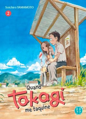 Quand Takagi me taquine T.02 | 9782373492378
