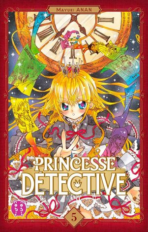 Princesse detective T.05   9782373492484