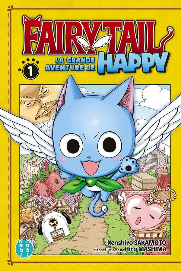 Grande Aventure de Happy (La) - Fairy tail T.01 | 9782373493726