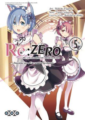 Re: Zero - Arc 2:  une semaine au manoir T.05 | 9782377171163