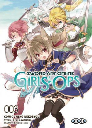 Sword art online - Girl's ops  T.03 | 9782377171262