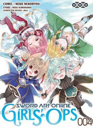 Sword art online - Girl's ops  T.04 | 9782377171460