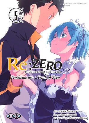 Re: Zero - Arc 3: Truth of Zero T.05 | 9782377172191