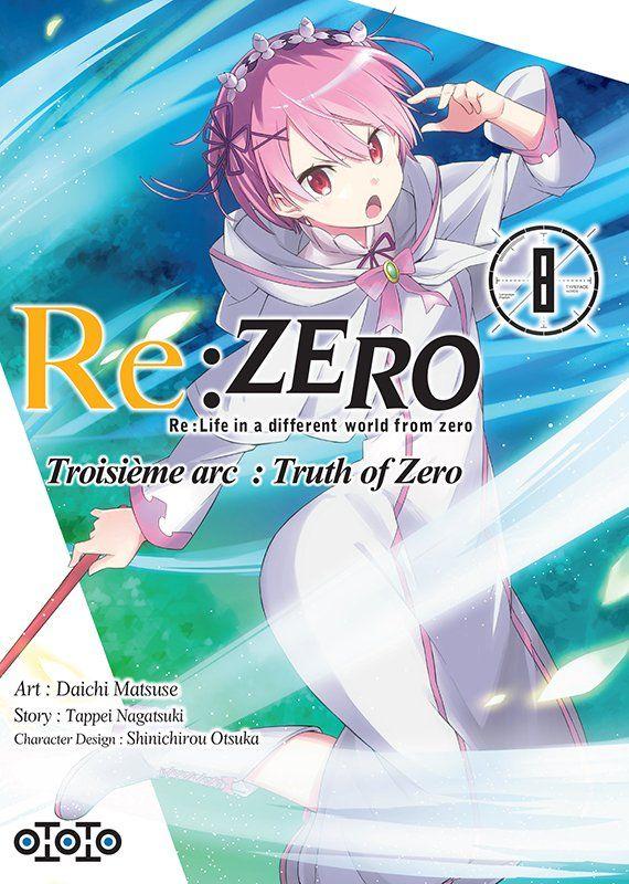 Re: Zero - Arc 3: Truth of Zero T.08 | 9782377172603