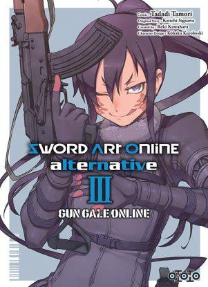 Sword art online Gun gale online  T.03 | 9782377172641