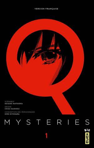 Q Mysteries T.01 | 9782505063070