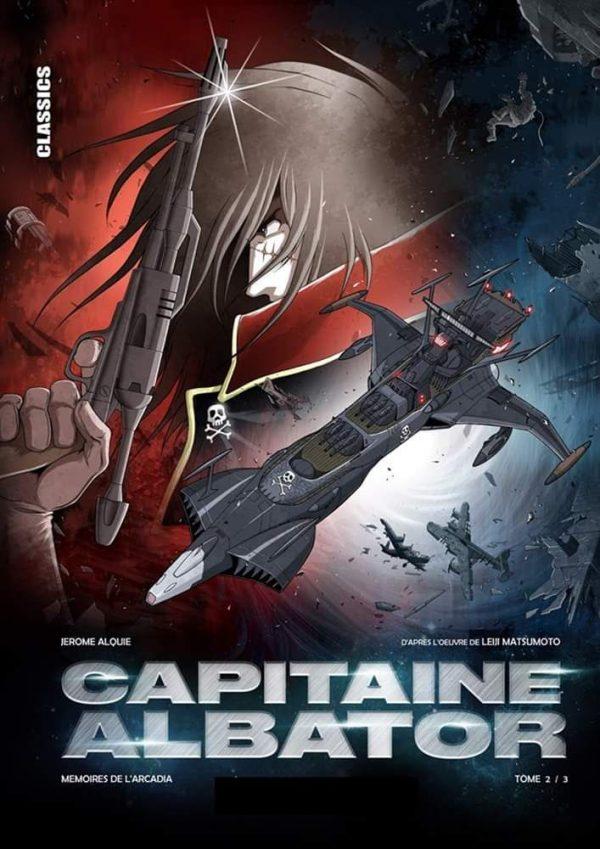 Capitaine Albator - Memoires de l'acardia T.02   9782505070528