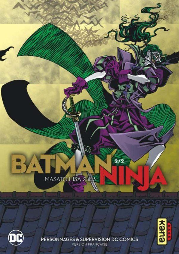 Batman ninja  T.02 | 9782505075820