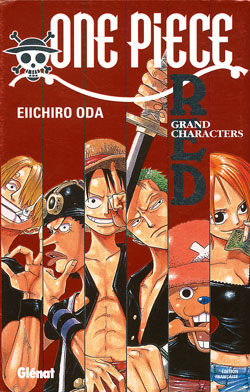 One Piece - Data Book T.01 Red | 9782723450256