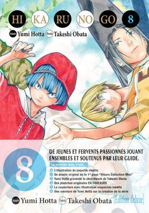Hikaru no Go - Ed. Deluxe T.08 | 9782756056036