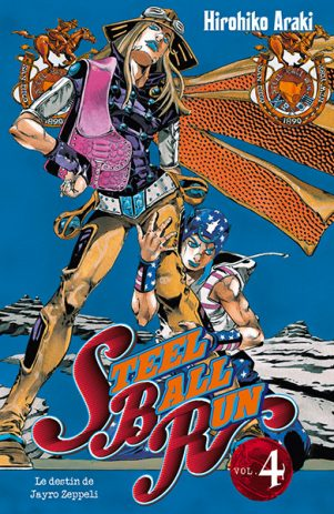 Jojo's Bizarre Adventure - Part.7 - Steel Ball Run T.04 | 9782759509591